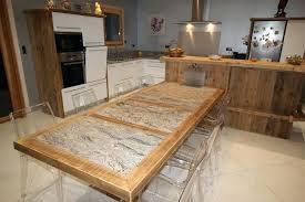 table de cuisine ancienne en bois table bois cuisine table en bois et granit piracema table bois