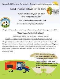 Firewise – Food Trucks Festival In The Park – Wedgefield Homeowners ...