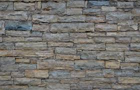 Rock Texture Floor Wall Stone Gray Rough Exterior Brick Material Slate Background Stacked Blocks