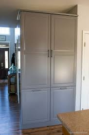 Kitchen Cabinet Door Hardware Placement by How To Assemble An Ikea Sektion Pantry Infarrantly Creative