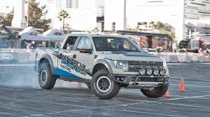 100 Sema 2013 Trucks Ford Raptor Demonstration SEMA Show With Insane Brian Deegan