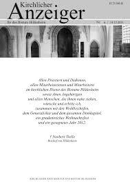 Mã Bel Hildesheim Kã Chen Allen Priestern Und Diakonen Allen Mitarbeiterinnen Und