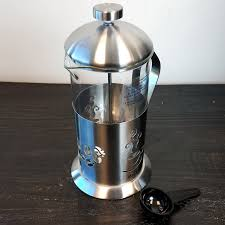 4 Cup Mr Coffee Gourmet Brew French Press Maker With Scoop