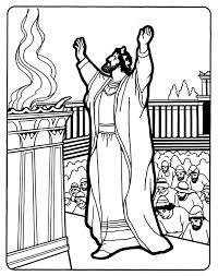 Solomon Builds The Temple BibleKing SolomonBible Coloring PagesBible