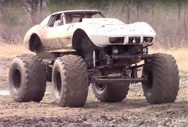 Video: Mud-bogging C3 Corvette Will Make Purest Cringe