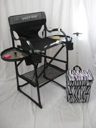 Professional Tall Folding Directors Chair by Aluminum Directors Chairs Foter