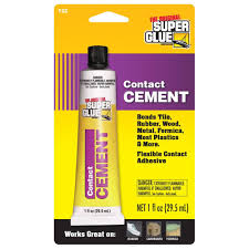 Tile Adhesive Remover Home Depot by Super Glue 1 Fl Oz Contact Cement 12 Pack T Cc The Home Depot