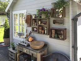 aufbewahrung im gartenhaus wohin mit den vielen dingen