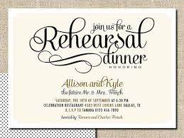 Wedding Rehearsal Dinner Invitations MarialonghiCom