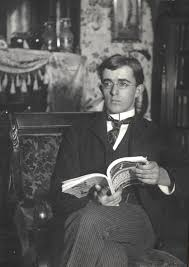 Irving Langmuir At Home Enjoying Harpers Magazine Scrapbook The Institute Collections
