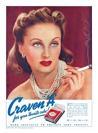 For Your Throats Sake Ten Beautiful Craven A Cigarette Ads
