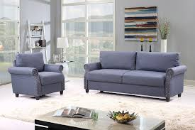 Amazon.com: 2 Piece Classic Linen Fabric Living Room Sofa And ... Modway E2437beiset Panache Sofa Armchair Set In Tufted A Brandt Ranch Oak Sectional And Ebth Chair Capvating And 08424790610 Aimg Size 65 With Jinanhongyucom Cr Laine Home Page Sofa Armchairs Amazing Arm Chairs Our Penelope Oceano Sofa Set Orsitalia Details About Faux Leather 2 Seater Seat Living Room Sets Fabric Contemporary Ideas Chairs Covers Splendid Loveseat Stretch