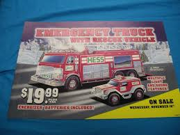 2005 Hess Truck Pump Sign On Sale 60.00 USD | Aj Collectibles & More Amazoncom Hess 1996 Emergency Ladder Fire Truck Toy Trucks Toys Details About 2005 Hess With Rescue Vehicle Nib In Mack For Sale New With Colctible Oil Company And 50 Similar Items Trucks Colctibles Paper Shop Free Classifieds Mint Box 1787965421 Bag Ebay 1995 Pclick Helicopter 2006 By 2015 Games Pump Sign On 6000 Usd Aj More