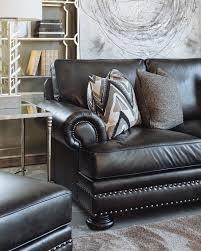 Bernhardt Upholstery Foster Sofa bernhardt foster leather mocha sofa mathis brothers furniture