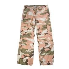 womens army usmc military subdued pink camo paratrooper fatigues