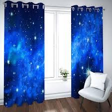 fenster vorhang wohnzimmer blickdicht lang sternenklarer
