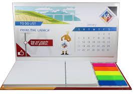 telecharger un bloc note pour le bureau calendrier de bureau personnalisé unique pensez au calendrier post