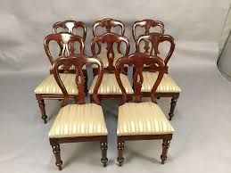 Set Of 8 Victorian Mahogany Balloon Back Dining Chairs ... Antique Victorian Ref No 03505 Regent Antiques Set Of Ten Mahogany Balloon Back Ding Chairs 6 Walnut Eight 62 Style Ebay Finely Carved Quality Four C1845 Reproduction Balloon Back Ding Chairs Fiddleback Style Table And In Traditional Living Living Room Upholstery 8 Upholstered Lloonback Antique French