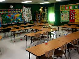 High school classroom organization Arranging the desks this way