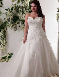 plus size corset wedding dresses plus sizes
