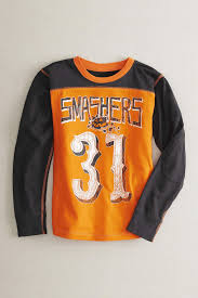 Chasing Fireflies Halloween Returns by Boys Personalized Smashers Jersey Tee Chasing Fireflies