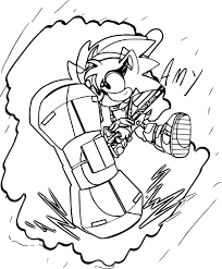 Sonic Hedgehog Coloring Pages The Page Christmas Online Full Size