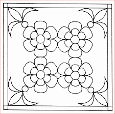 Coloriage Fleur Sans Tige Coloriages Imprimer Download Ornaments