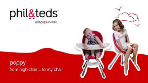 Joovy Nook High Chair Manual by Poppy High Chair To U0027my Chair U0027 Phil U0026teds 2015 Youtube