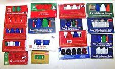 Ge Pre Lit Christmas Tree Replacement Bulbs by Ge Spare Bulbs Christmas Lights Ebay