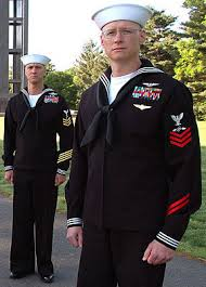 Why does the Navy Enlisted wear their rank only on the left sleeve
