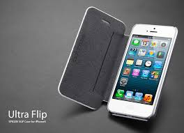 Spigen Ultra Flip iPhone 5 Case The Samsung Flip Cover Clone