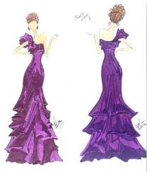 Prom Dress Designs Sketches