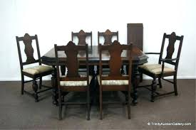 Antique Dining Room Table Chairs Styles Furniture Including Luxury Tip