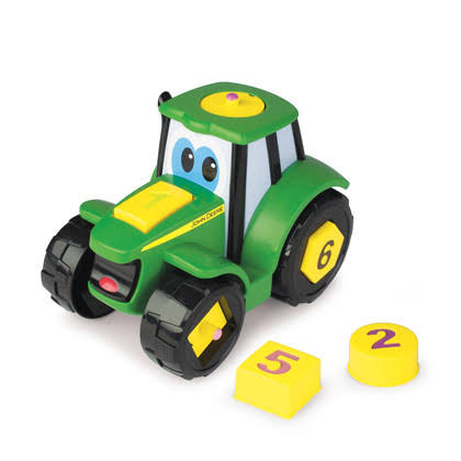 John Deere Learn and Pop Johnny Tractor Toy