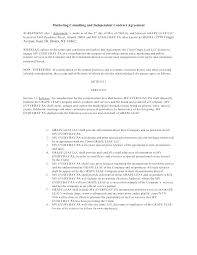 Freelance Consultant Contract Template Consultancy Agreement