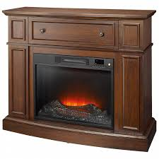 Essential Home Shaw Electric Fireplace Cherry Shop Your Way