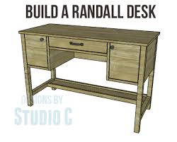 build a randall desk u2013 designs by studio c
