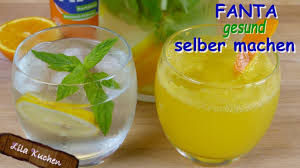 fanta selber machen ohne zucker kalorienarme softdrink alternativen getränke