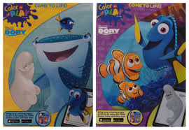 New Set Disney Dory With Whales Color Play Come To Life In 3d Coloring Book