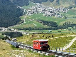 100 Muottas Muragl Bernina Valley Funicular Celerina GR 040818