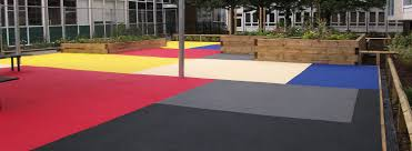 Poured Rubber Flooring Residential by Soft Surfaces Ltd The Uk U0027s Leading Playground Flooring