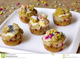 Fairy Cakes Are Little Butterfly Cupcakes Filled With Jam And Topped Colour Dragees