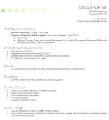 Resume Examples For Students With No Work Experience Canada Of Resumes Little Jobs Without Resu