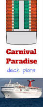 Carnival Splendor Deck Plans by Carnival Paradise Deck Plans Cruise Radio