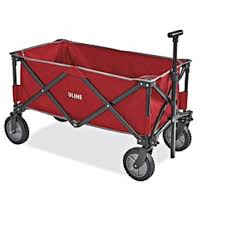 Uline Utility Wagon Red