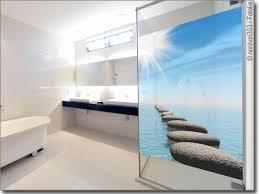 fotofolie für bad mit foto bedruckte glasfolie nach maß
