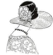 Adult Coloring Pages Books Parchment Craft Embroidery Patterns Art Nouveau Deco Ladies Ideas Red Carnation