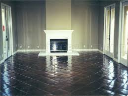 sealing tile floor floor color tiles acid washed stained with oak