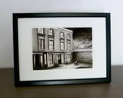 ed gein lshade factory ed gein house serial killer charcoal print a5