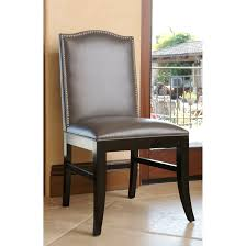 Abbyson Stacy 18-inch Leather Nailhead Trim Dining Chair (Grey ... Elements Intertional Max Casual Counter Height Table Set Aamerica Mariposa Leg Ding W 2 18 Inch Leaves Mrprw6200 Tables Colorado Liberty Fniture Ocean Isle Rectangular With Shop Distressed Black Metal Chair 18inch Seat Primo 9308 Dintp Leaf Powell Room Basil Antique Brown Side Doll Lovely Pink And White Wood Faux Leather Midcentury 18inch Inch Doll Fniture Table Chairs For American Girl Og Awesome Steve Silver For Your Xcalibur 09